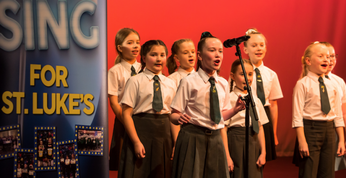 Schools sing their hearts out for St. Luke's Hospice