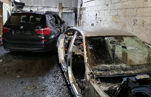 Chop shop discovered in South Ockendon