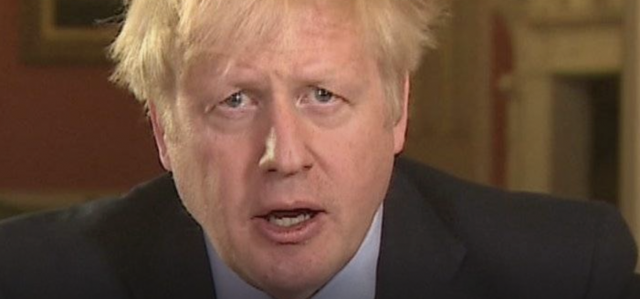 """Covid-19: PM Boris Johnson """"You must stay at home"""""""