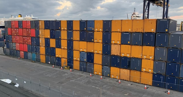 Port of Tilbury sends out message of love to NHS