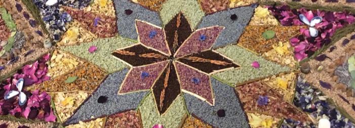 Making May Mandalas around the world