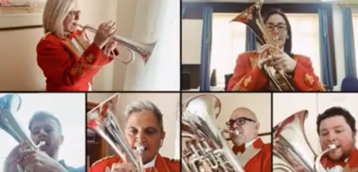 Cory Band releases the World Premiere virtual performance of Philip Harper's IMG Anthem Unity