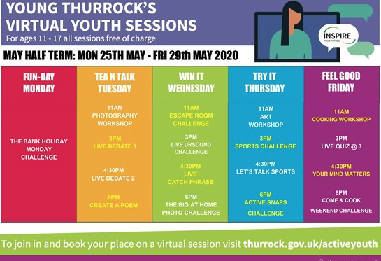 Thurrock Council launch virtual sessions to support young people to achieve their ambitions