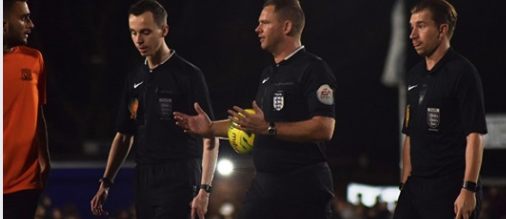 Promotion success for new Essex Level 3 referees