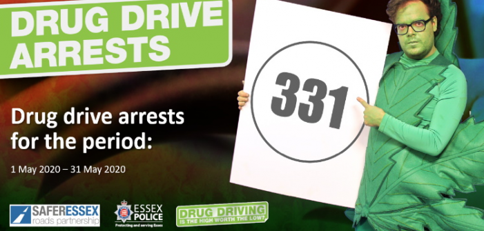 Record number of drug driving arrests in May