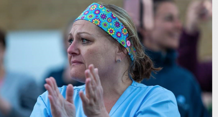 Nurse who beat Coronavirus is back helping others beat it too