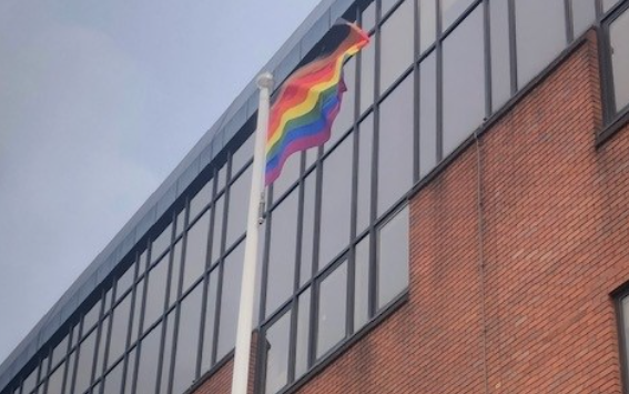 Thurrock flies the rainbow flag for Essex Pride