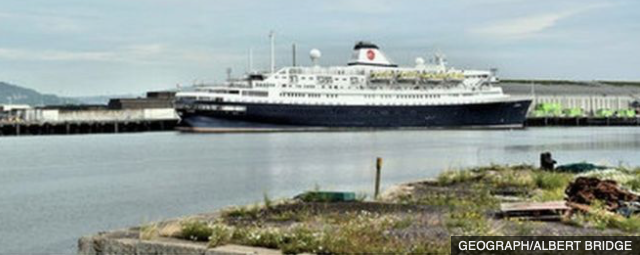 Astoria ship detained at port of Tilbury over crew welfare concerns