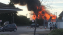 Fire at development at back of Bannatynes in Chafford Hundred