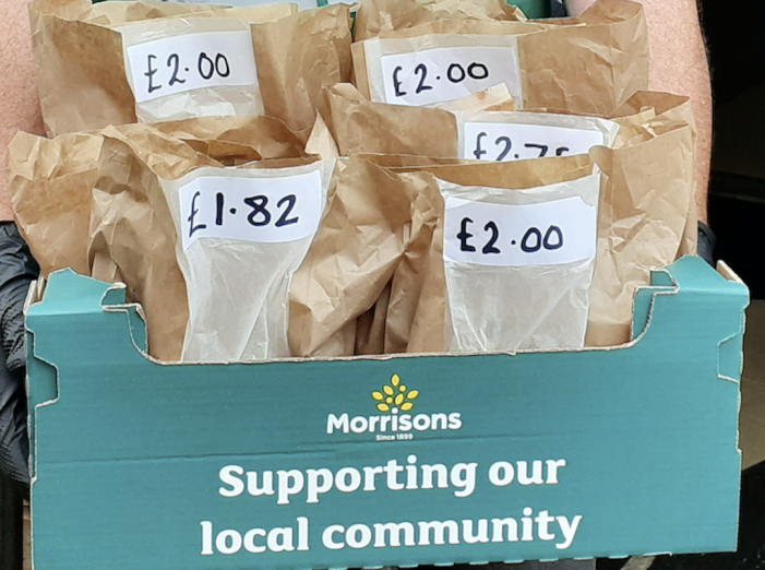 Morrisons introduces Food Parcels for customers to easily donate to local food banks