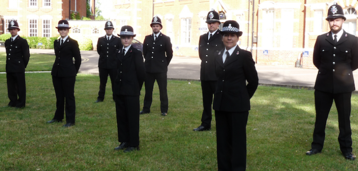 Eight new Special Constables attest