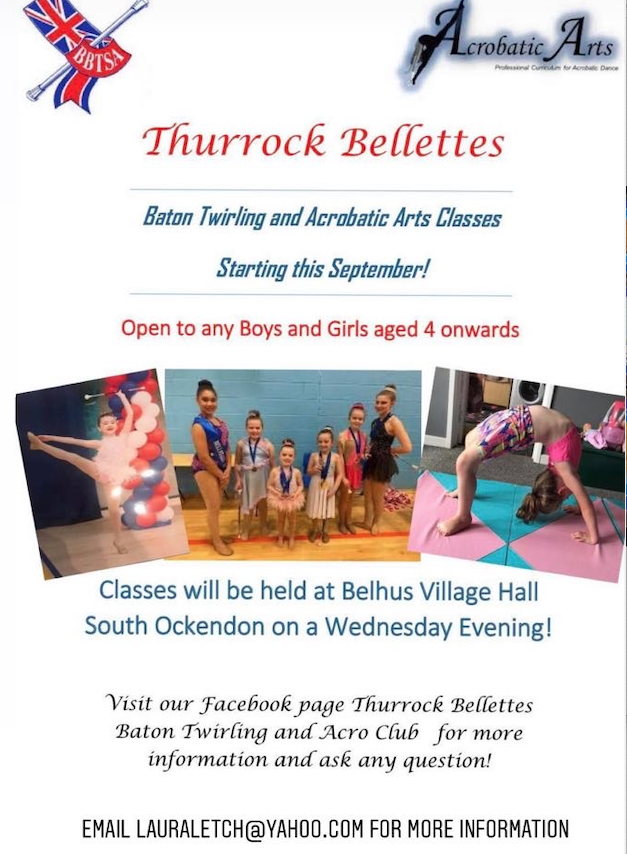 Come and join the Thurrock Bellettes