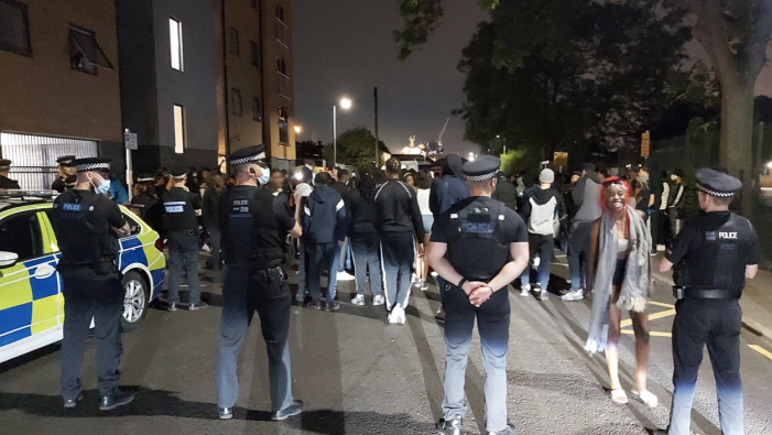 Tilbury: Dispersal order following large gathering