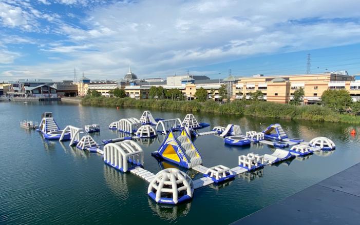 intu Lakeside welcomes Aqua Park to Alexandra Lake