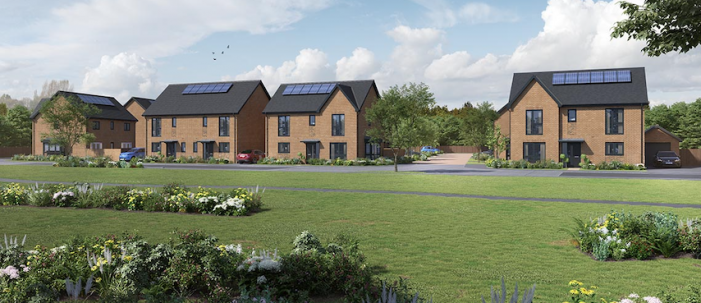 Bellway creates new community on brownfield site in Grays