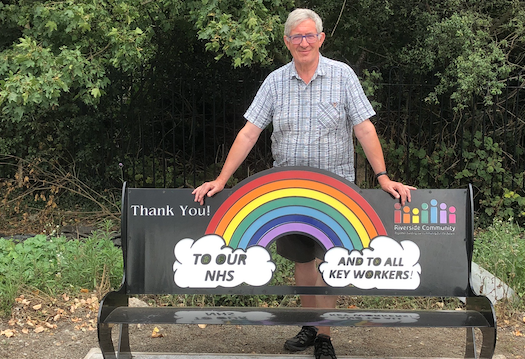 Grays benches thank the NHS heroes