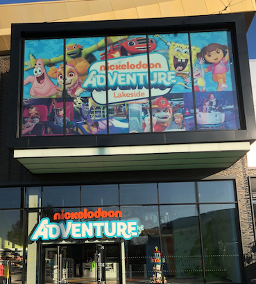 Nickelodeon Adventure Lakeside re-opens