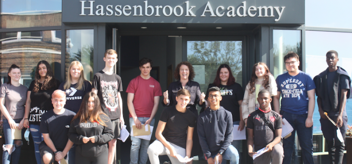 "Hassenbrook School celebrate ""phenomenal"" rise in standards"