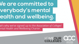 South Essex College makes commitment to support students and staff with their mental health and wellbeing