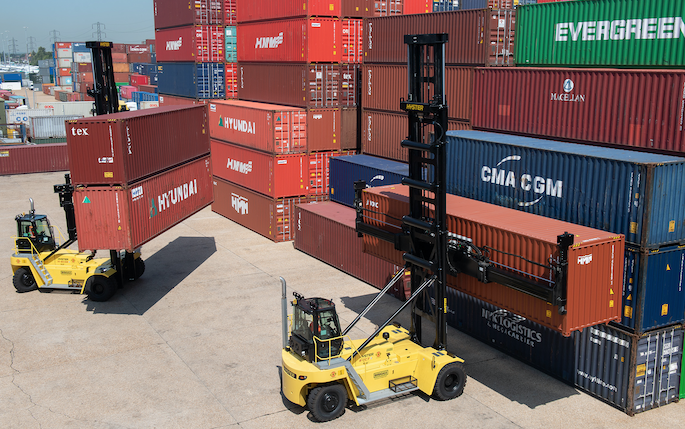 G&W UK companies invest in 75 new lifting and handling machines across their UK container terminals