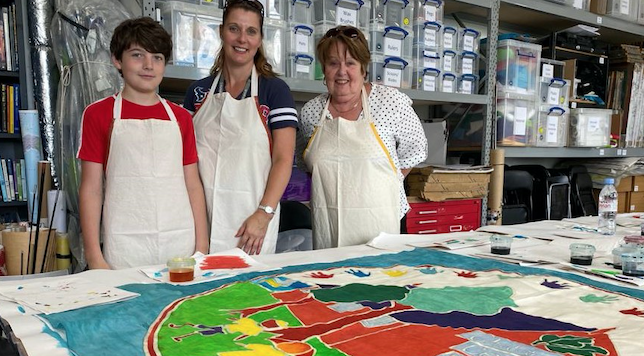Heritage, history and hopes for the future in Purfleet flags