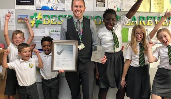 Arthur Bugler head wins top teaching award