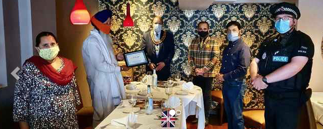 Ceremony honours Thurrock priest of Grays Gurdawars Sikh Temple.