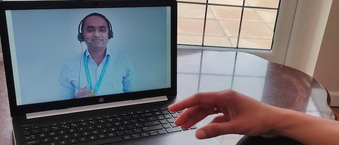 Patients praise hospital's video consultation service
