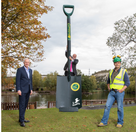 A Groundbreaking Moment for Bluewater