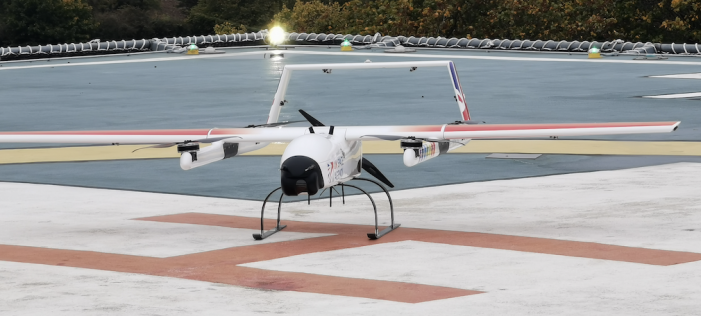 A healthcare drone trial that could revolutionise the way the NHS transports samples is being tested