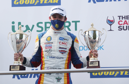 Fifth podium and Independent success for MB Motorsport accelerated by Blue Square