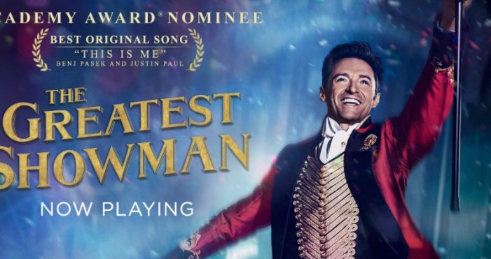 Sing-along to The Greatest Showman