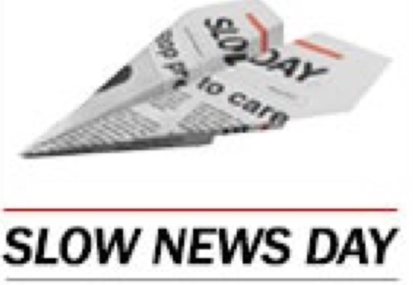 Hyperlocal Bible: The slow news day…..
