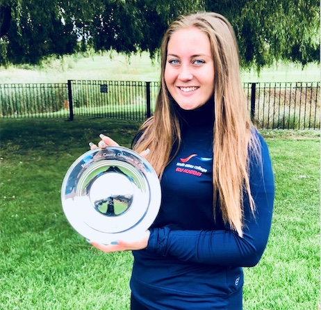 South Essex College's Sophie wins national golf tournament