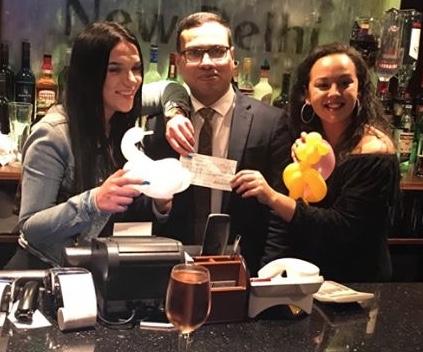 New Delhi Restaurant in Grays raises £1250 for Havens Hospice