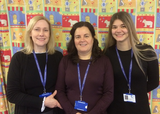 Stanford-le-Hope Primary Nursery receive national award