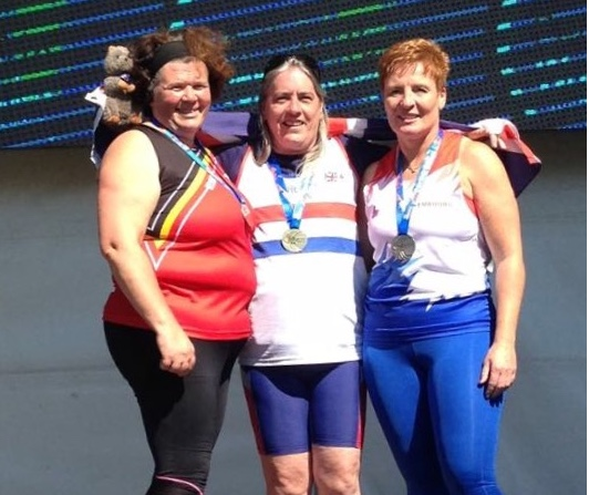 Athletics: Thurrock veteran Sue is top of the world