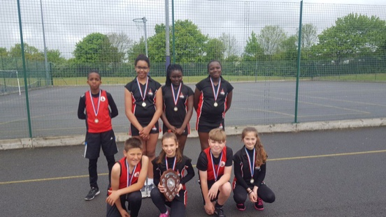 High Five Netball success for Thameside Primary School