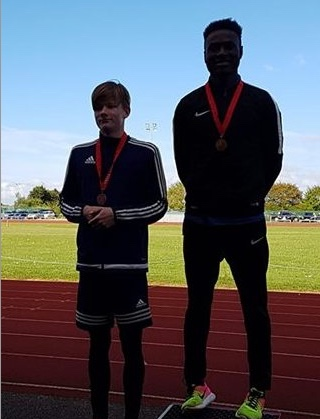 Athletics: Young Harriers shine at Essex County Combined Events Championships