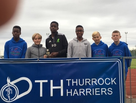 Athletics: Young Thurrock Harriers end track season on a high