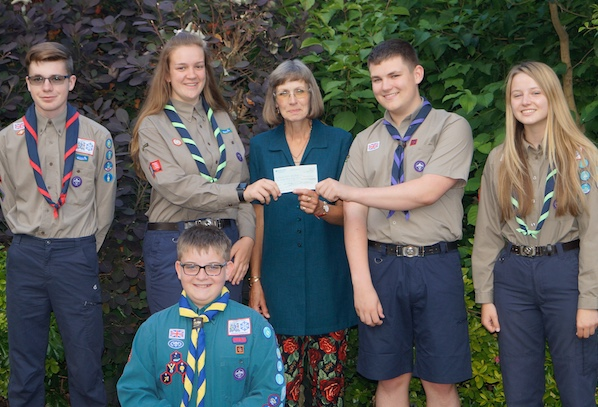 Thurrock Scouts given cash boost by Rotary Club of Grays