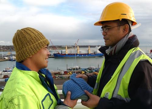 Tilbury chaplain wins award for seafarers
