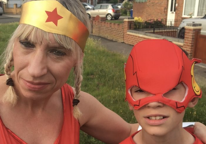 South Ockendon super-hero running for St Luke's