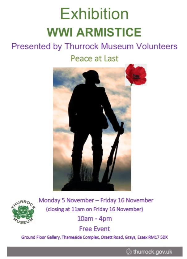 WW1 Exhibition set for the Thameside