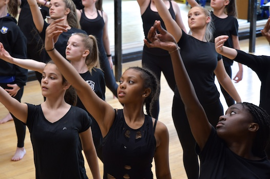 William Edwards students work with Royal Opera House artists