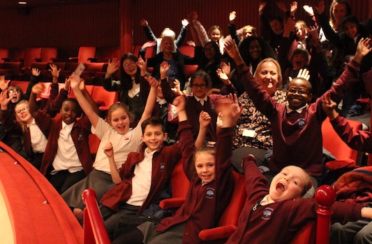 Woodside Academy students see Madam Butterfly at Royal Opera House