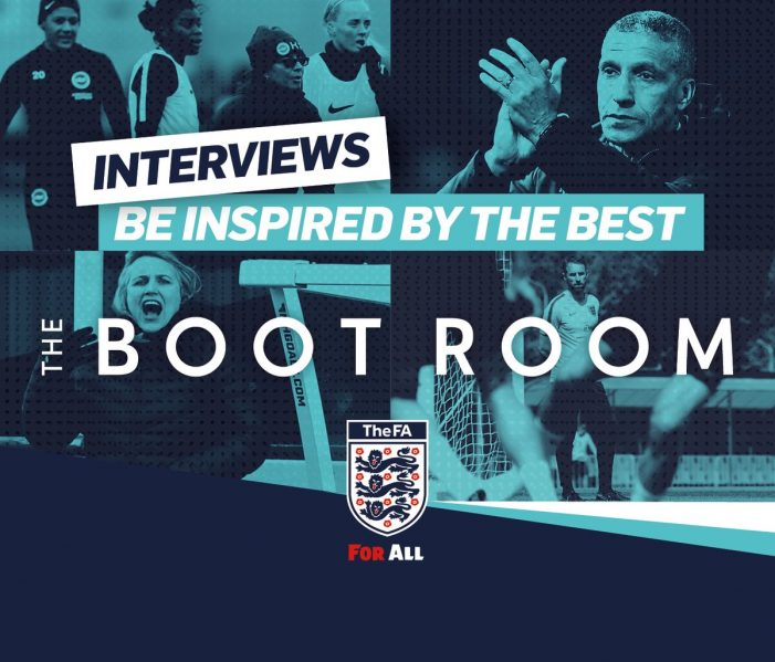 Grassroots Essex football coaches access FA online 'Boot Room' content