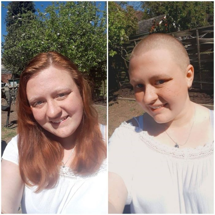 Thameside Young Producer braves the shave as she raises more than £1000 for McMillan Cancer Trust