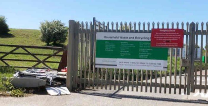 Utter shambles on first day Linford Tip re-opens