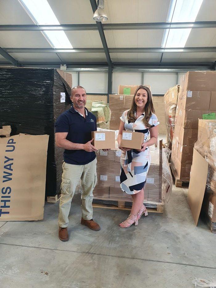 Community show their spirit to get supplies to staff at Basildon hospital